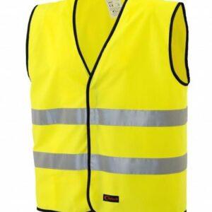 Colete sinalização amarelo 203-2H