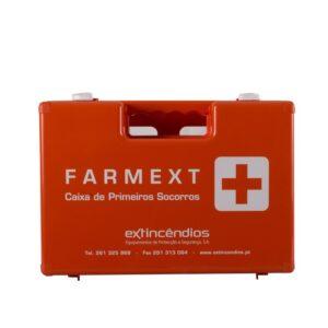 Caixa primeiros-socorros FARMEXT