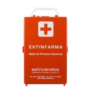 Caixa primeiros-socorros EXTINFARMA